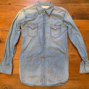 MARCO POLO Long Jean Shirt